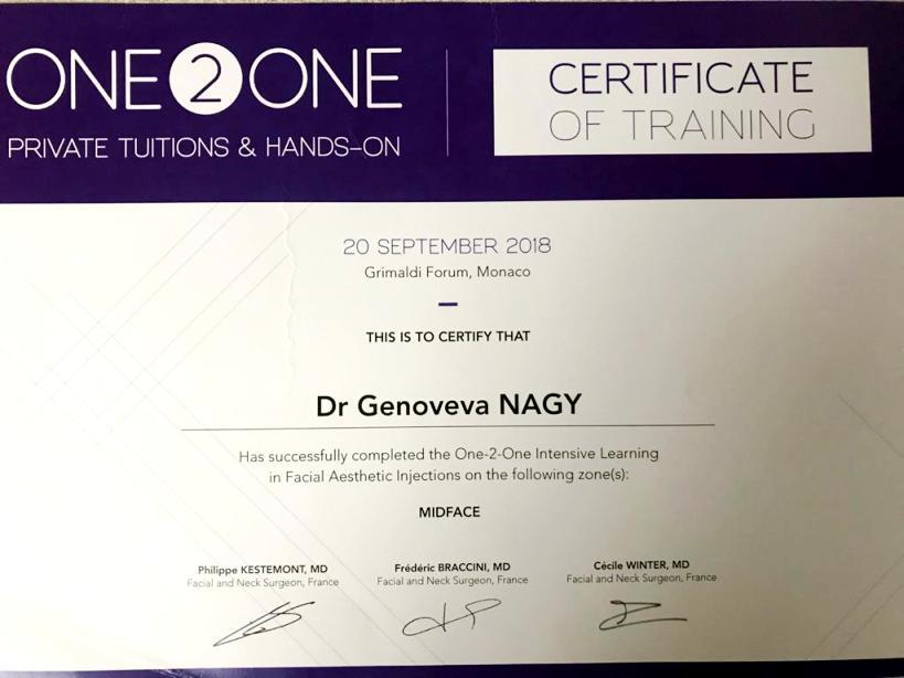 Diploma Doctor Genoveva Nagy - Monaco sept 2018 2